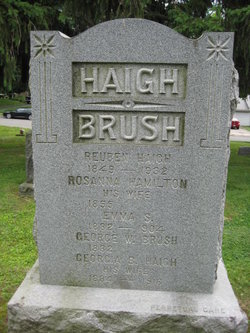 Georgia B <I>Haigh</I> Brush
