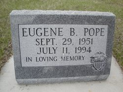 Eugene B Pope