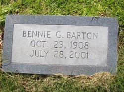 Bennie G Barton
