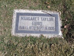 Margaret <I>Taylor</I> Gibbs