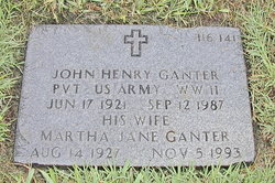 Martha Jane Ganter