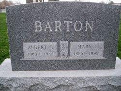 Mary <I>Layton</I> Barton