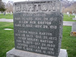 Ellen Ann <I>Beazer</I> Barton