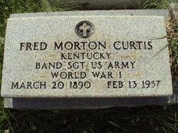 SGT Fred Morton Curtis