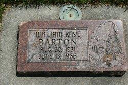 William Kaye Barton