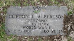 Clifton L. Albertson