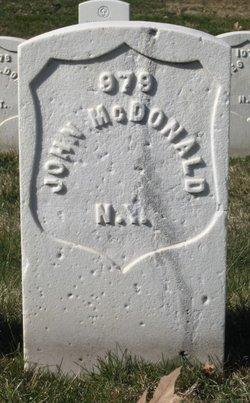 Pvt John McDonald