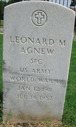 Leonard M Agnew