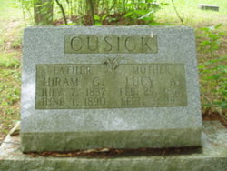 "Pvt Hiram George ""High"" Cusick"