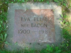 Eva M <I>Bacon</I> Ellis