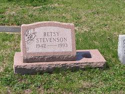 """Margaret Elizabeth """"Betsy"""" <I>Stevenson</I> Bell"""
