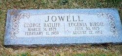 "George Ratliff ""Rat"" Jowell, Jr"