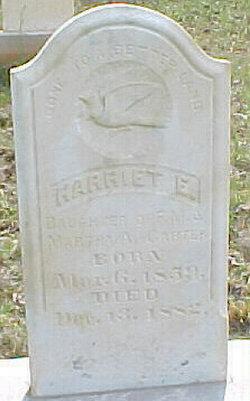 Harriet E Carter
