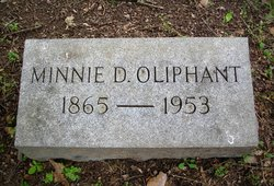 Minnie <I>Drane</I> Oliphant