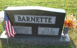Eva Blanche <I>Stoops</I> Barnette