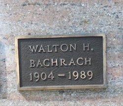 Walton Howard Bachrach