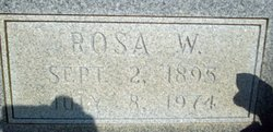 Rosa Perry <I>Whitley</I> Bell