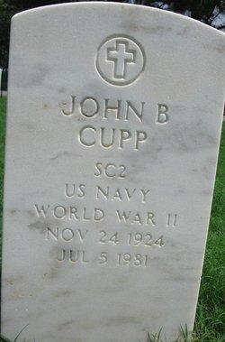 John B Cupp