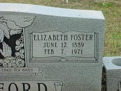 Elizabeth Foster Ledford