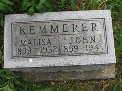 Malissa Jane <I>Crabb</I> Kemmerer