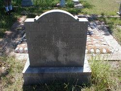 """Julyette Elizabeth """"Julie"""" <I>Leatherwood</I> Rhodes"""