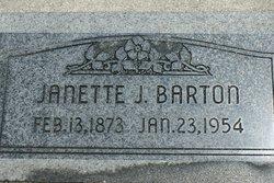 Janette <I>Meredith</I> Barton