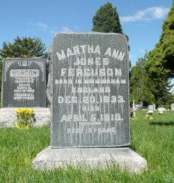 Martha Ann <I>Jones</I> Ferguson