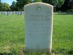 1SGT Joseph A Adriaensen