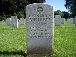 SSGT Leonard Victor Anderson