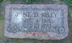 Jane Doris <I>Vincent</I> Riley