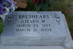 """Stephen Wayne """"Steve"""" Breshears"""