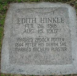 Edith <I>Hinkle</I> Plaster