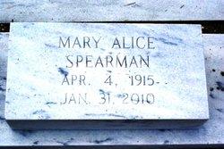 Mary Alice Spearman