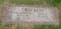 Jane M. Crockett