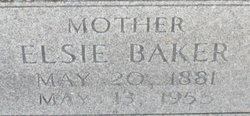 Elsie Mina <I>Perry</I> Baker