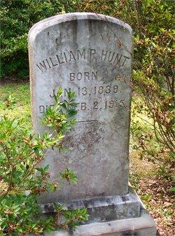 William P Hunt