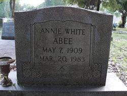 Annie <I>White</I> Abee