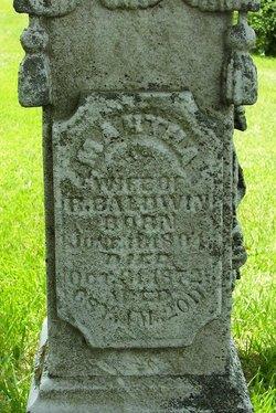 Martha <I>Hamlin</I> Baldwin