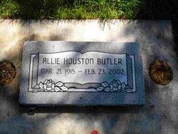 Allie <I>Houston</I> Butler