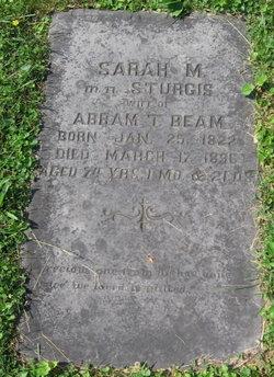 Sarah M <I>Sturgis</I> Beam