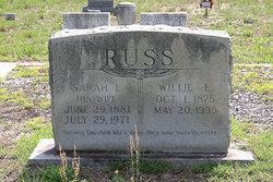 Sarah Louvenia <I>Brown</I> Russ