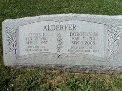 Dorothy M. <I>Crouthamel</I> Alderfer