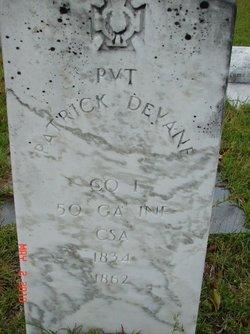 Pvt Patrick DeVane