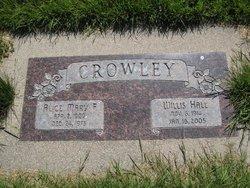 Alice Mary <I>Faulkner</I> Crowley