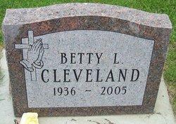 Betty L Cleveland