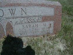 Sarah Margaret <I>Condor</I> Brown
