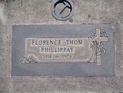 Florence M <I>Thom</I> Phillippay