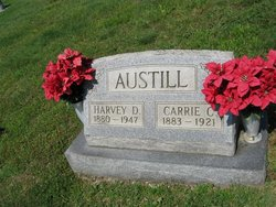 Carrie Caroline <I>Miller</I> Austill
