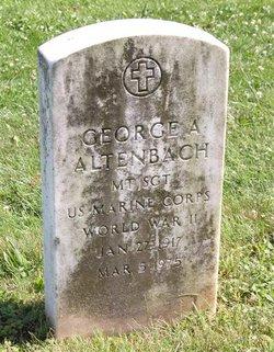 MSGT George Alexander Altenbach