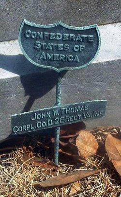 Capt John Wesley Thomas